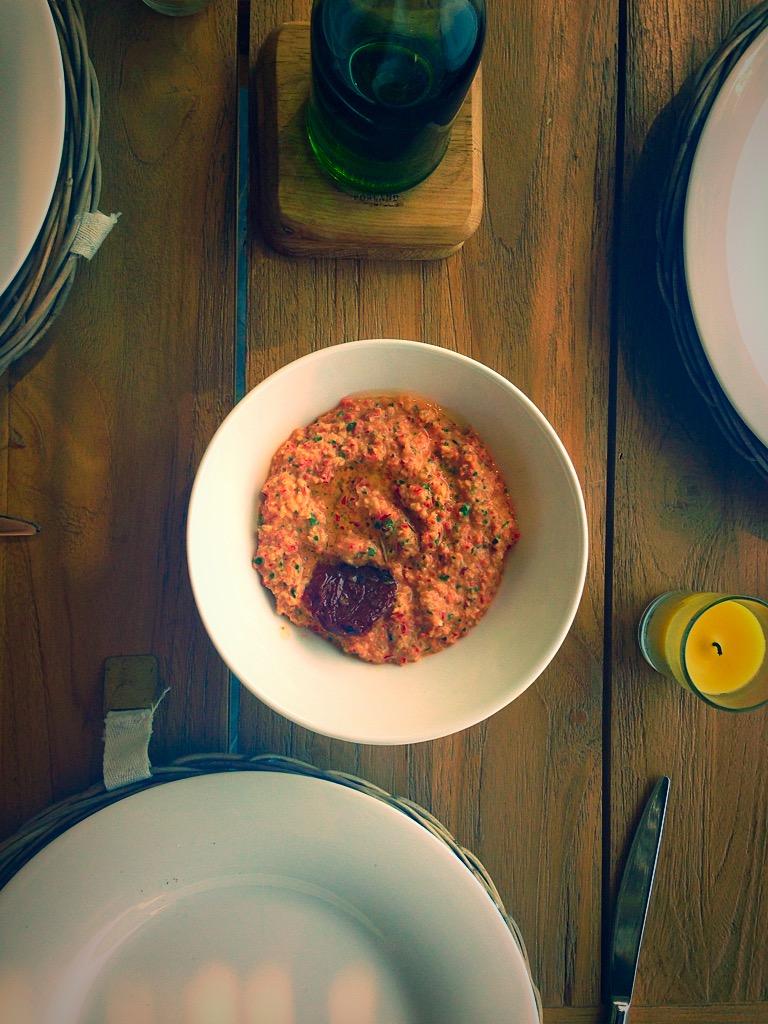 Red Pepper, Almond & Parsley Hummus