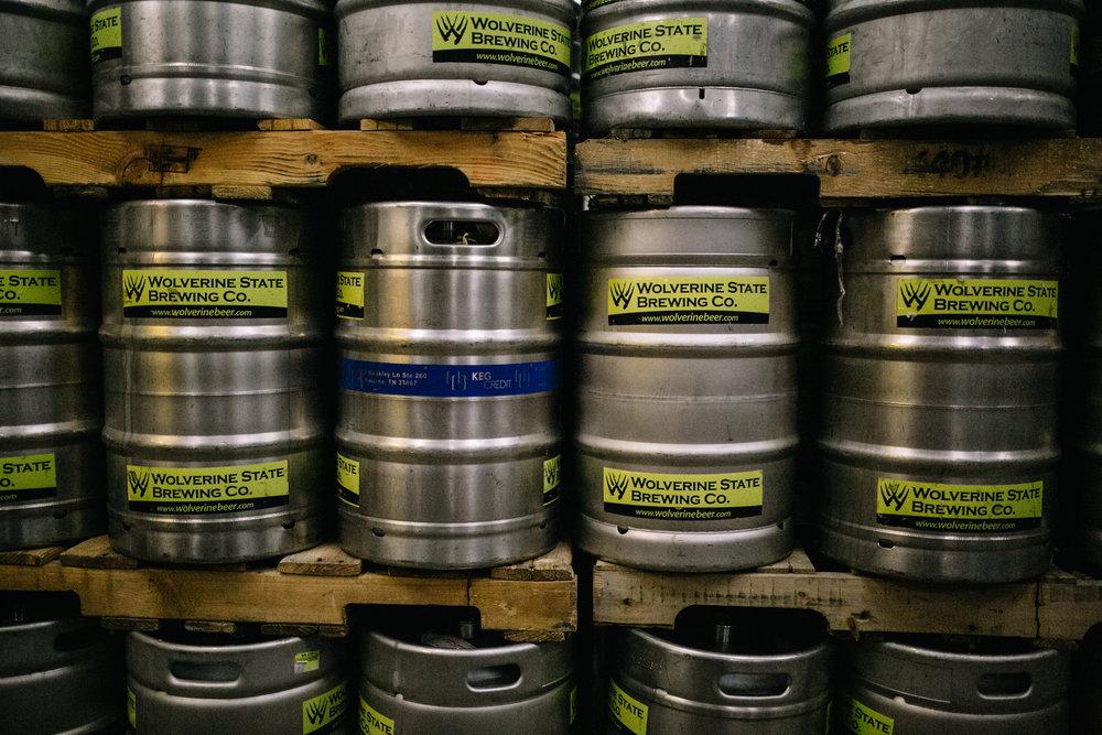 Keg Orders Wolverine State Brewing Co
