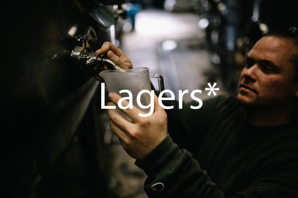 Karl samples beer