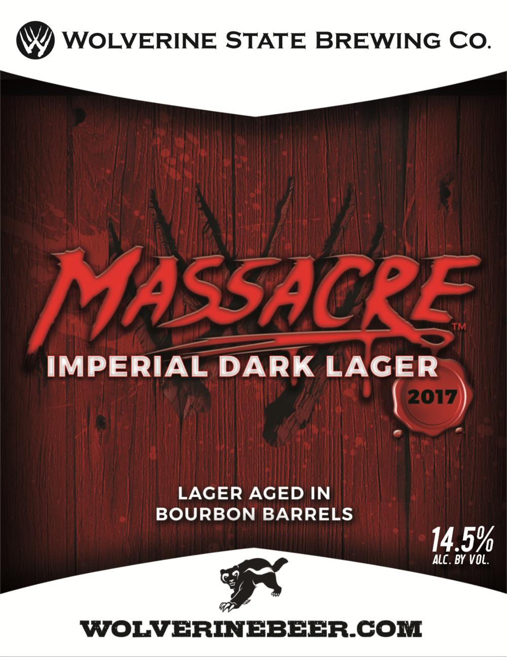 Massacre Beer Poster