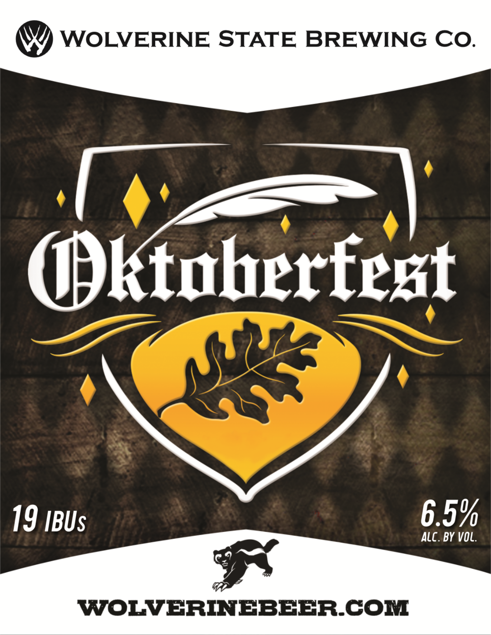 Oktoberfest Beer Poster