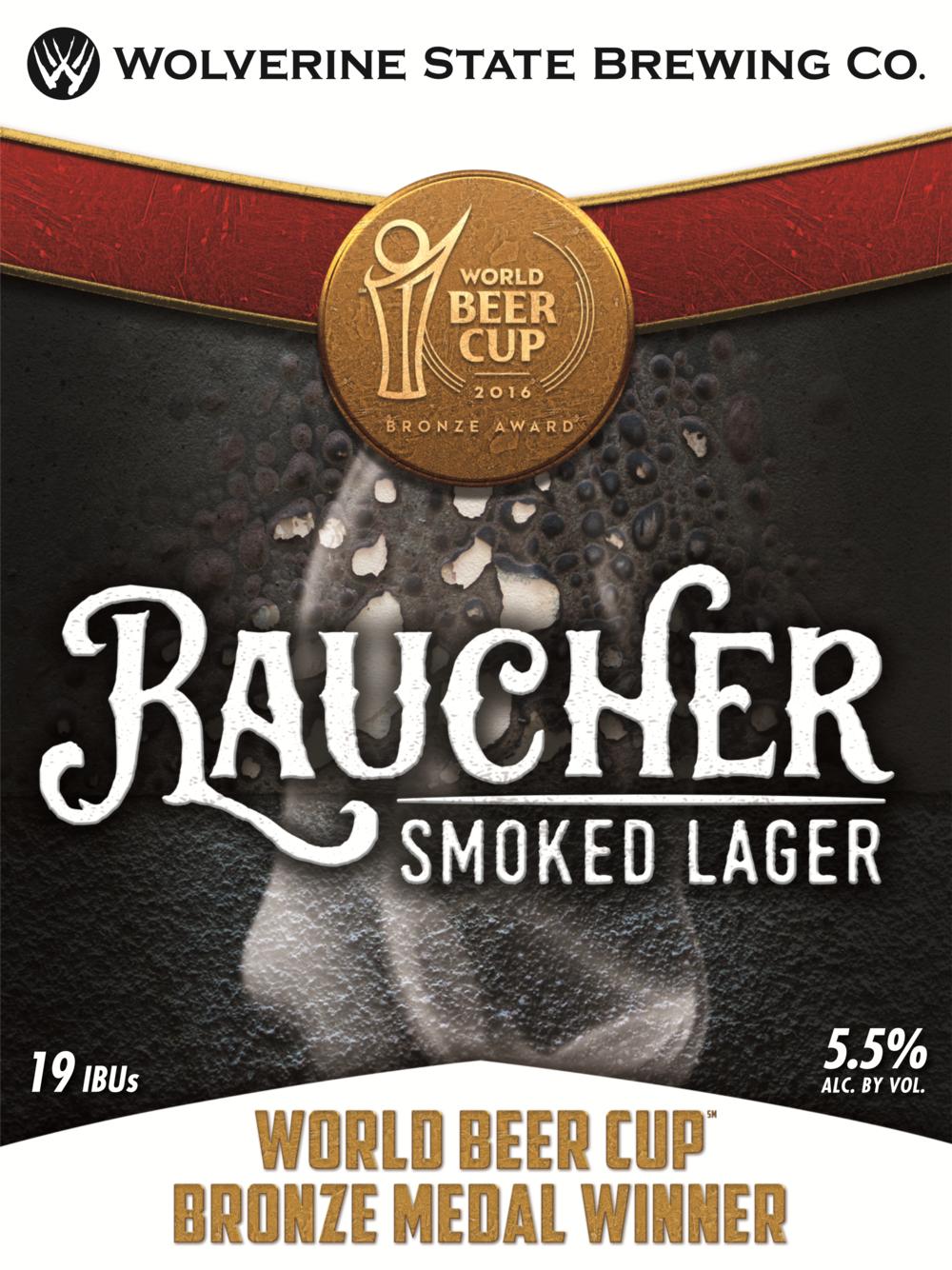 Raucher Beer Poster