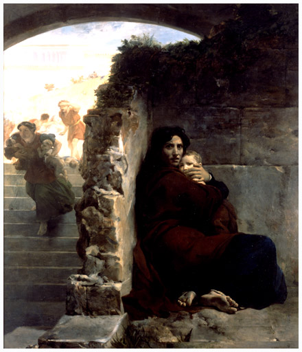 Léon Cogniet.  Le Massacre des Innocents.  1824, Museum of Fine Arts, Rennes, France.
