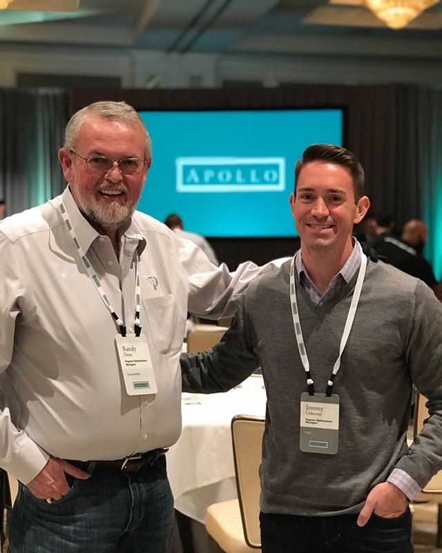 Pegasus CEO, Randy Dean, and CLO, Jeremy Osborne attend the annual conference hosted by our partners, Apollo Global Management, in Las Vegas.