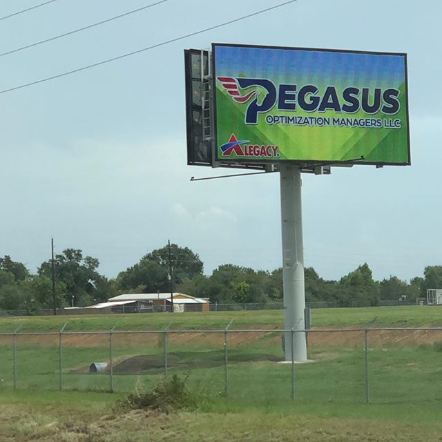 We sure love seeing Pegasus on the Alegacy sign every time we drive down highway 290! It never gets old. Thanks @alegacyequipment for the shoutout and love!