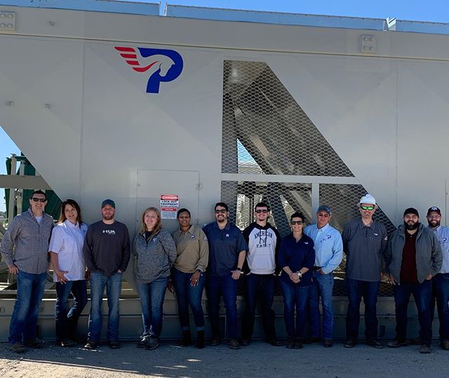 Our Accounting and IT departments recently had a field trip to one of our manufacturers to see our compressors in all stages of fabrication. It was a fun day of learning and we can't wait to come back again! Thanks to @alegacyequipment and our Fleet department for coordinating a great experience.