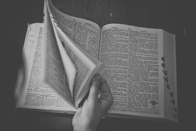 A dictionary is an invaluable resource. Photo from www.pixabay.com CC0