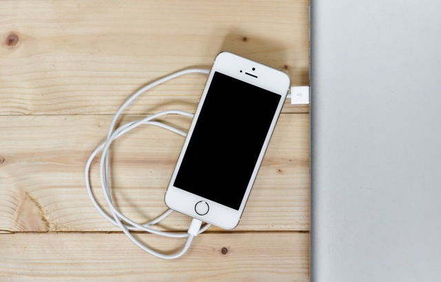 iPhone and charger. Photo from Pexels.com CC0