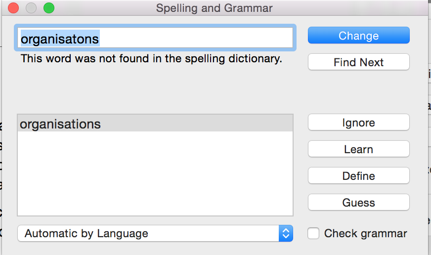 Spellcheckers are useful in cases like this -- but not infallible in EVERY case.
