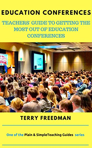 My latest book, on how to get the most out education conferences. Click on the pic to find out more (affiliate link). The picture above links to the UK Amazon site. However, if you click here: Education Conferences you will be taken to the appropriate Amazon store for where you live.