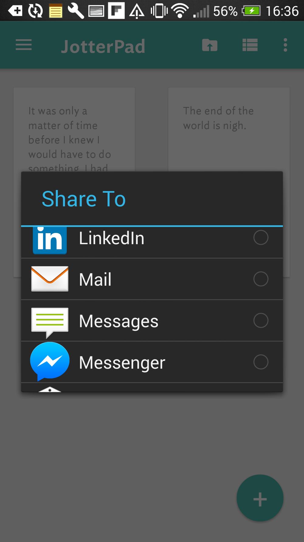Share and share alike.