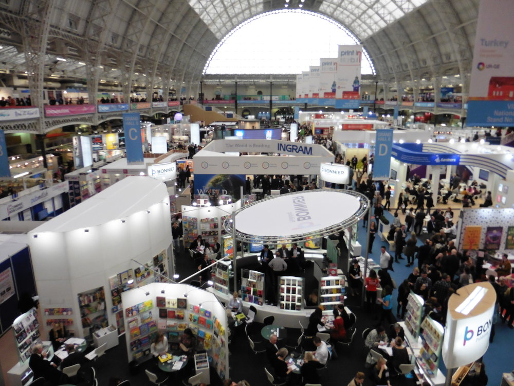The London Book Fair 2017: vibrant as always. Photo by Terry Freedman 2017.
