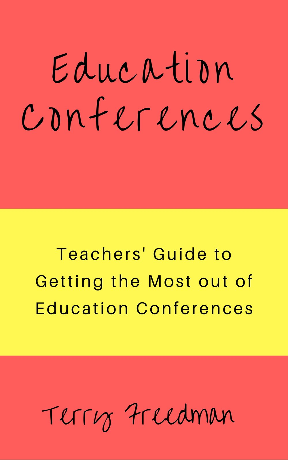 This is my latest book, on how to get the most out of education conferences. Click on the pic to find out more (affiliate link). The picture above links to the Amazon site for your area.