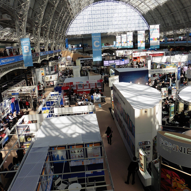 The London Book Fair -- photo by Terry Freedman