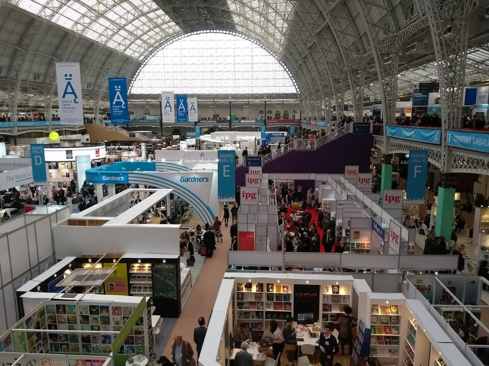 The London Book Fair 2018: the first day. Photo by Terry Freedman