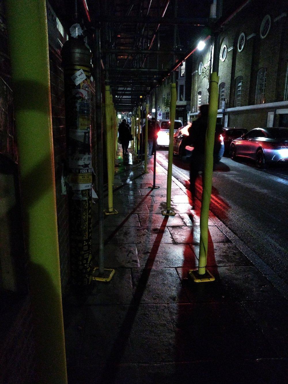 A scene in Brick Lane, by Terry Freedman