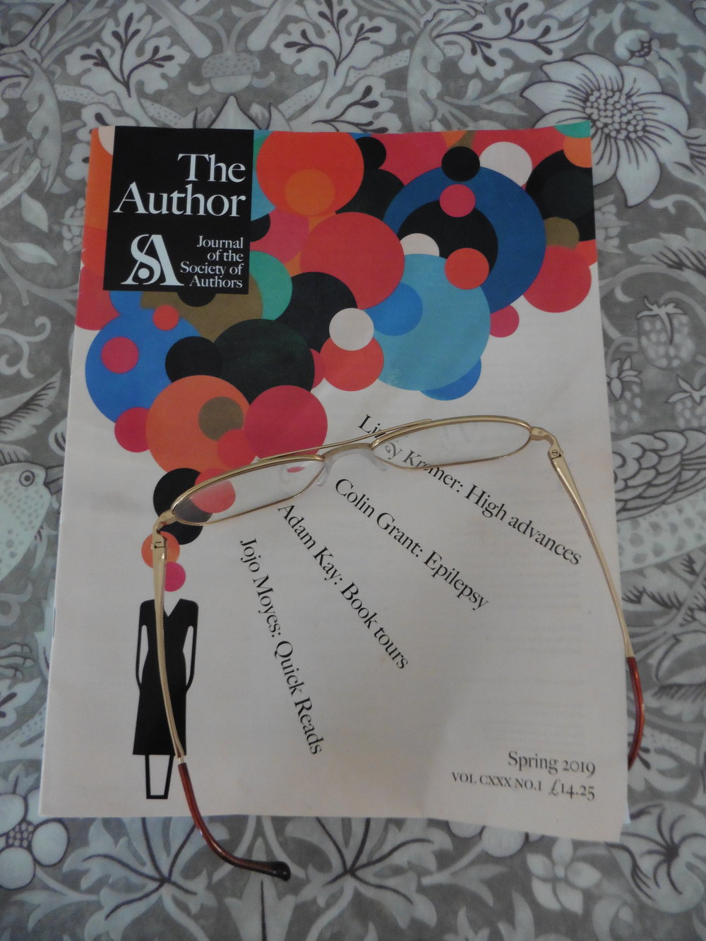 Cover of The Author magazine, photographed by Terry Freedman
