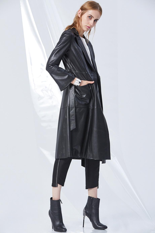 Leather Coat GC61436 | Top GC13161