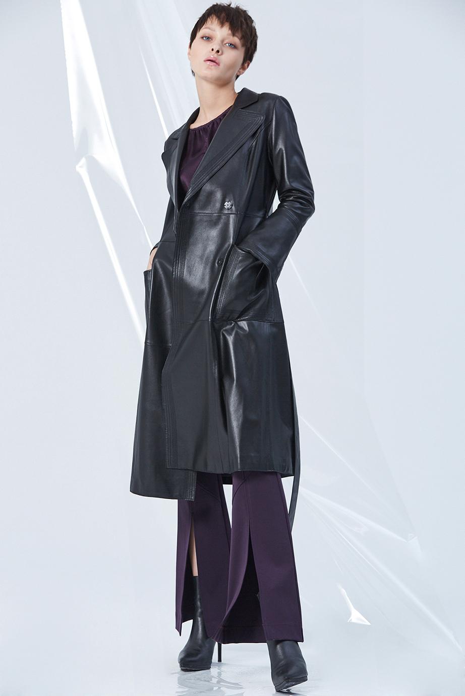 Leather Coat GC61436 | Top GC13161 | Pants GC02301