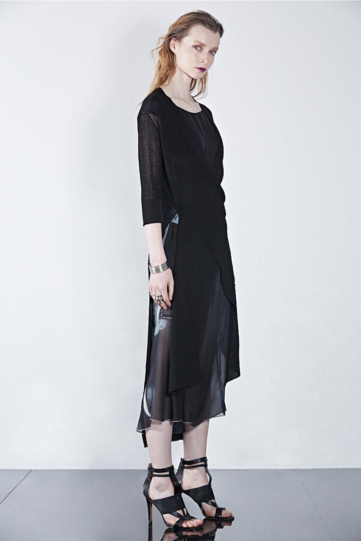 Cardigan GX51382 | Dress GX04138