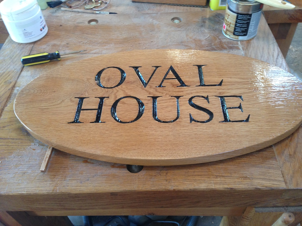 House signs from £8 per letter