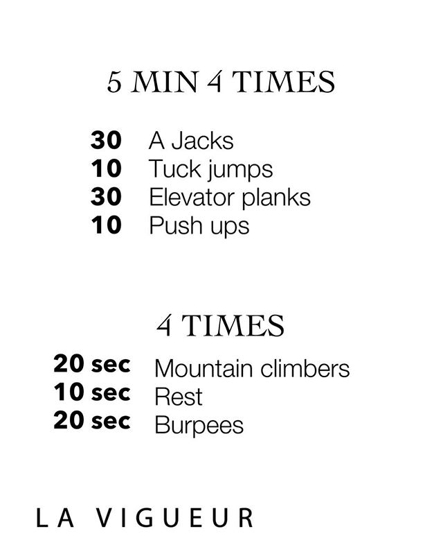 New circuit coming at ya by @erinmurr Let's get going. Set the clock for 5 minute go through the circuit as many times as you can. Starting with 30 A jacks, pulling everything in small squat jumping out into a starfish. Moving into tuck jumps, try to drive those knees to your heat when jumping- the goal here is to jump as high as possible. Dive into 30 elevator planks high plank position lower down to forearms then back to high plank (repeat 30) engage that core and don't let you hips dip. Finish with 10 push ups- user a mirror as a guide if you have one tighten those flutes and core. Repeat circuit 4 times with 90 second rest in-between. Finish with a Tabata 20 second on 10 seconds off 4x through. Total 4 min cardio. Ready, Set...GO! #fit #fitness #fit #fitnessmodel #blogger #windycity #chicago #sweat #circuit #hiit #tabata #cardio #health #lift #squat #strong #healthy