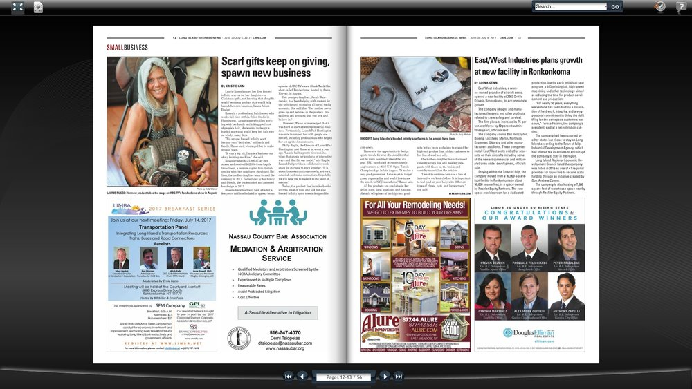 Long Island Business News 7/3/2017 READ FULL ARTICLE HERE