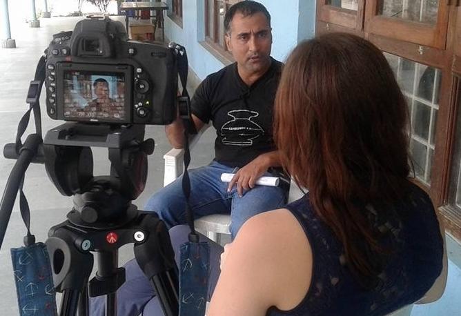 Interviewing basanta.jpg