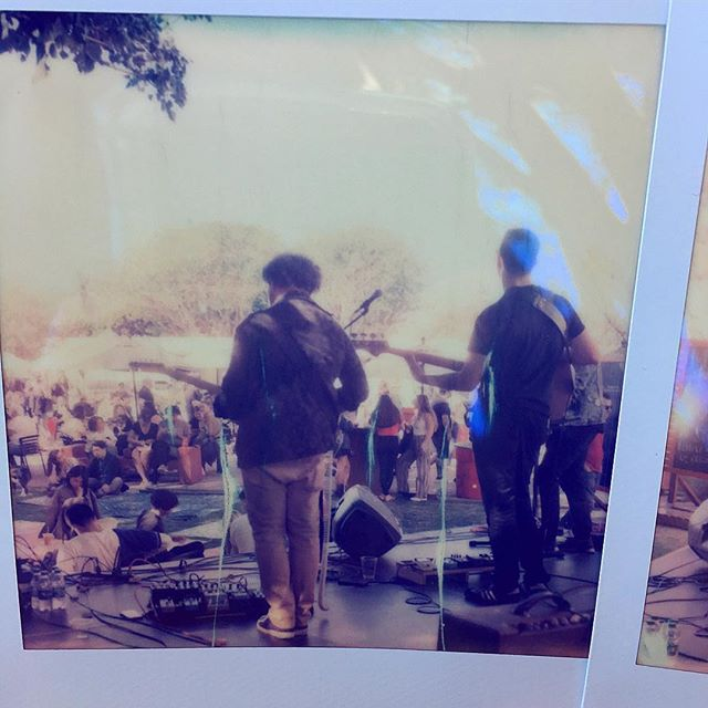 Fun gig at @melrosetradingpost circa 1967 w/ homies @zephyravalon_ @efajrmusic @heisx.a.vier