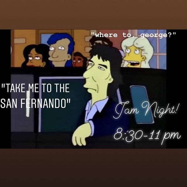 "Tonight! Just like the quiet Beatle famously opined, ""Something."" San Fernando Session @thesanfernando featuring a double dose of Canadian kindness @carter.a.lee and @efajrmusic so come be nice to people"
