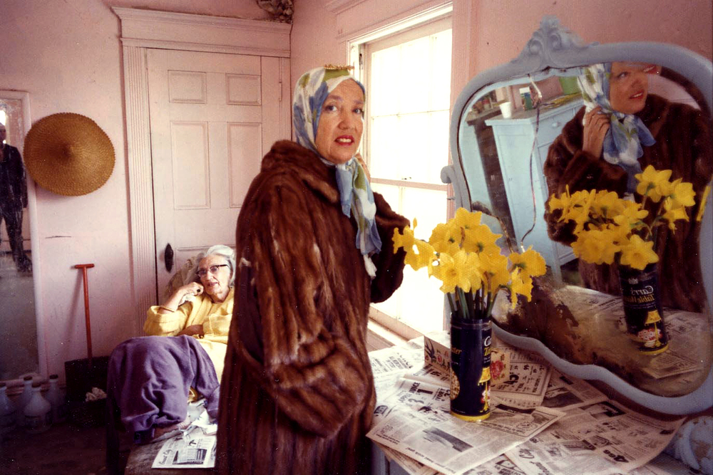 """Little Edie"" and ""Big Edie"" of  Grey Gardens  - Photo by Albert Maysles"