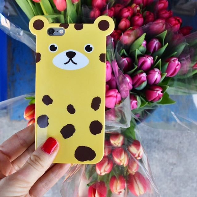 Our cases are stepping out & ready for spring. 70 degree weather in NYC today! #☀️#💐#🐯 #springhassprung #spring #leopard #yellow #iphone6 #iphone6s #anicase #nyc #wednesday  Shop at http://anicase.com/shop/leopard