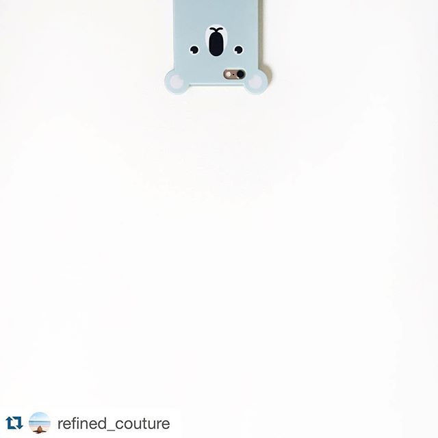 Monday is back!💡👔☕️🏋💻 #hellonewweek #happymonday #nyc #backtowork #instamorning #iphonecase  --- #Repost @refined_couture with @repostapp. ・・・ Hello....it's me #🐨 // The love for my new @anicase is real. A portion of each sale goes to help the endangered species case you buy. #savealltheanimals #anicase  http://anicase.com/shop/koala