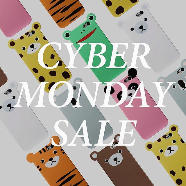 "🦃 Turkey is gone but sale is on.⚡️Cyber Monday starts now! All items are 40% off with code ""CYBER40"". Stock up early on the holiday gifts for your loved ones! 🎁🐼🐻🐸🐨🐯🎄 Sale ends 11/28/2016 at 11:59pm EST.  http://anicase.com  #anicase #iphonecase #gifts #cybermonday #sale"