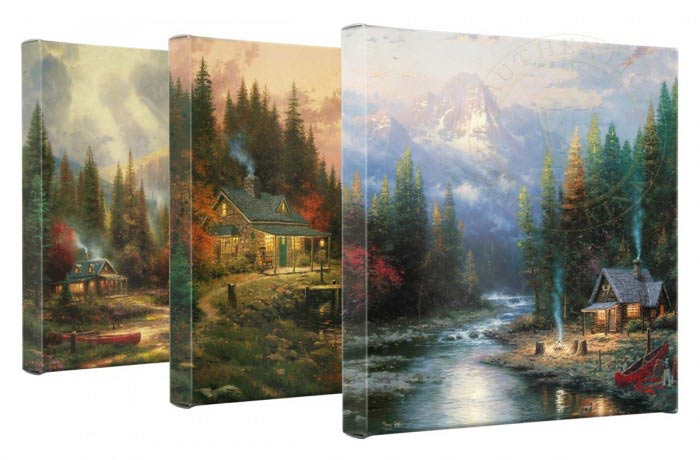 Thomas Kinkade canvas prints