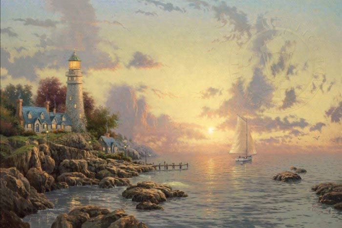 Sea of Tranquility by Thomas Kinkade