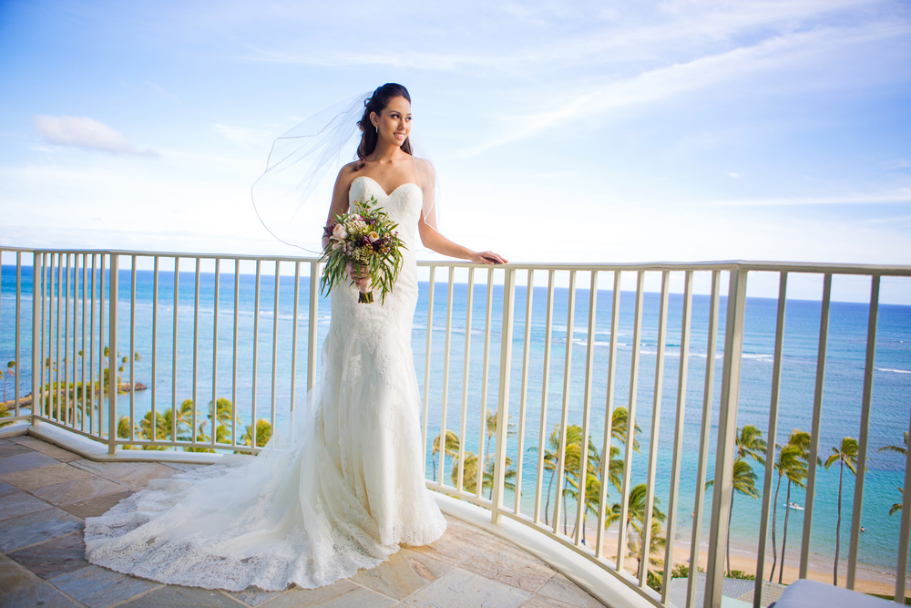 Bridal Portrait Photography Oahu Wedding Photographer