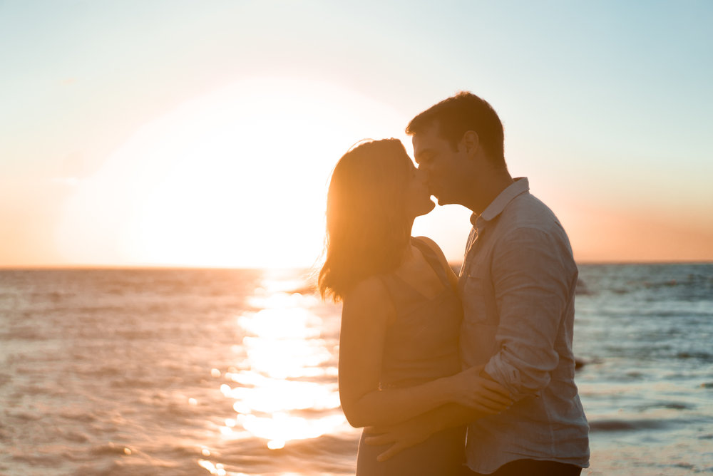 Engagement session at the Andaz Wailea.