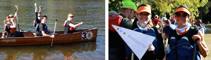 The Mosquito Team and the Great River Race
