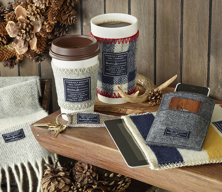 Mosquito Blog: Caribou Coffee & Faribault Woolen Mill