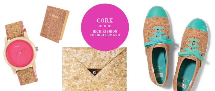 Trend Bite: Cork Accessories via Mosquito Inc