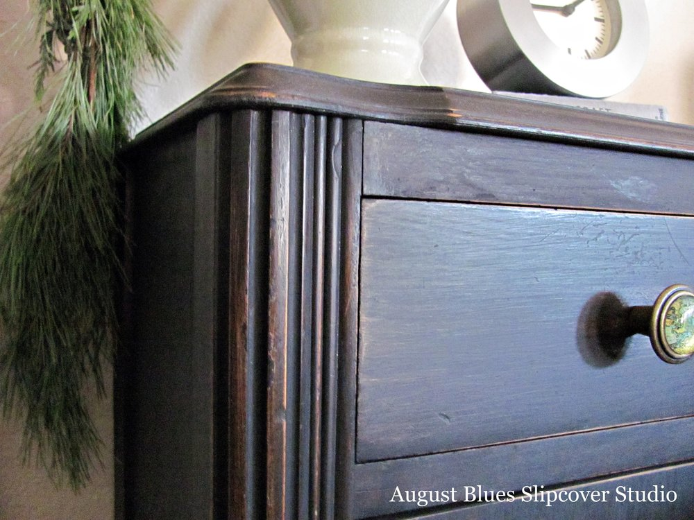 August Blues - drawer close-up