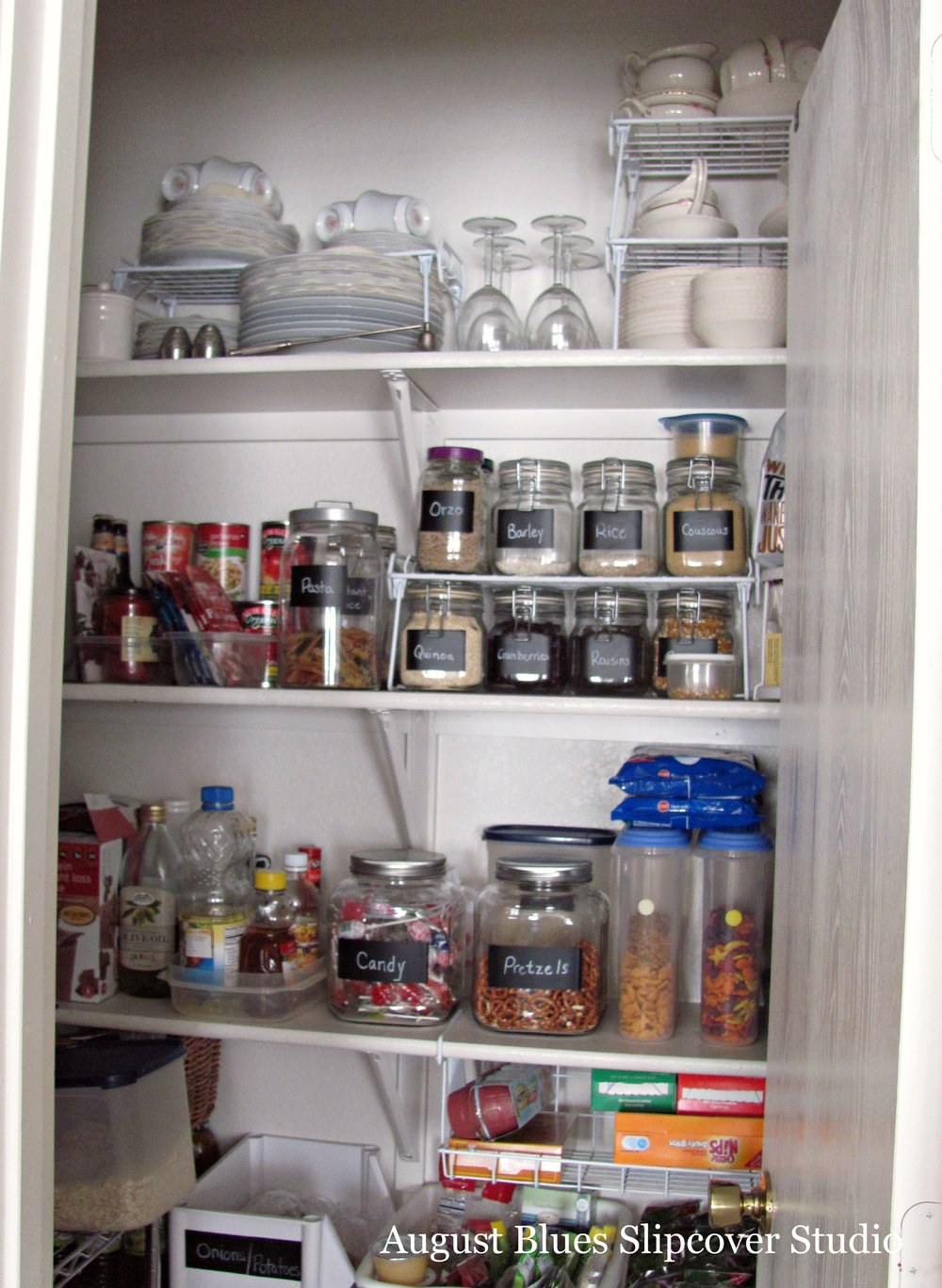 August Blues - Pantry After