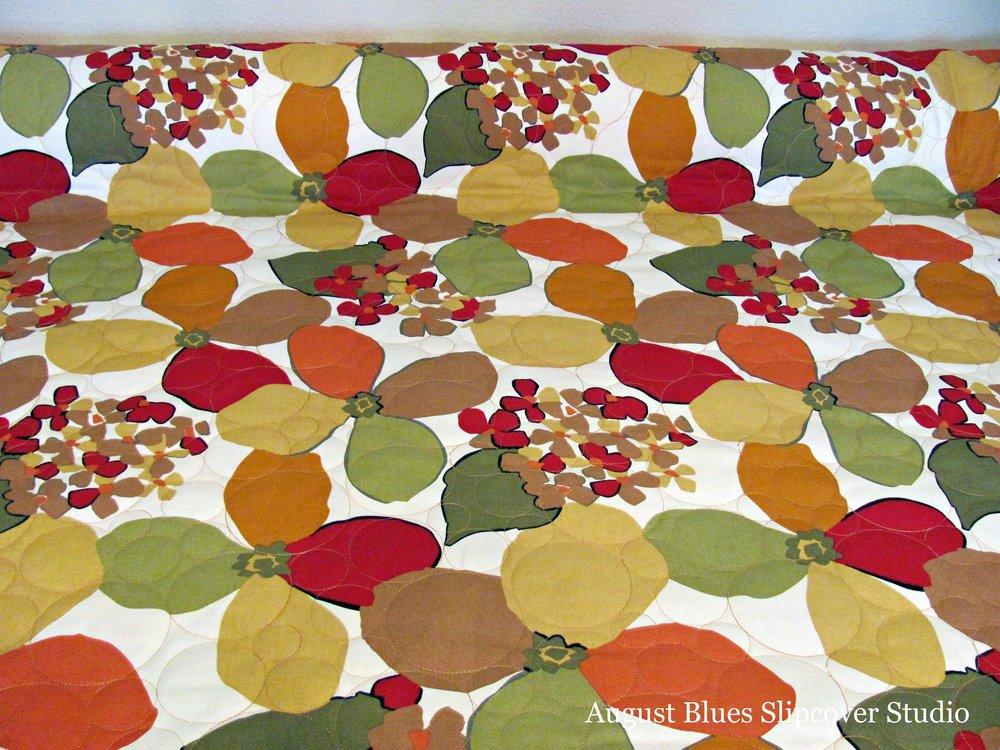 August Blues - Cushion Fabric