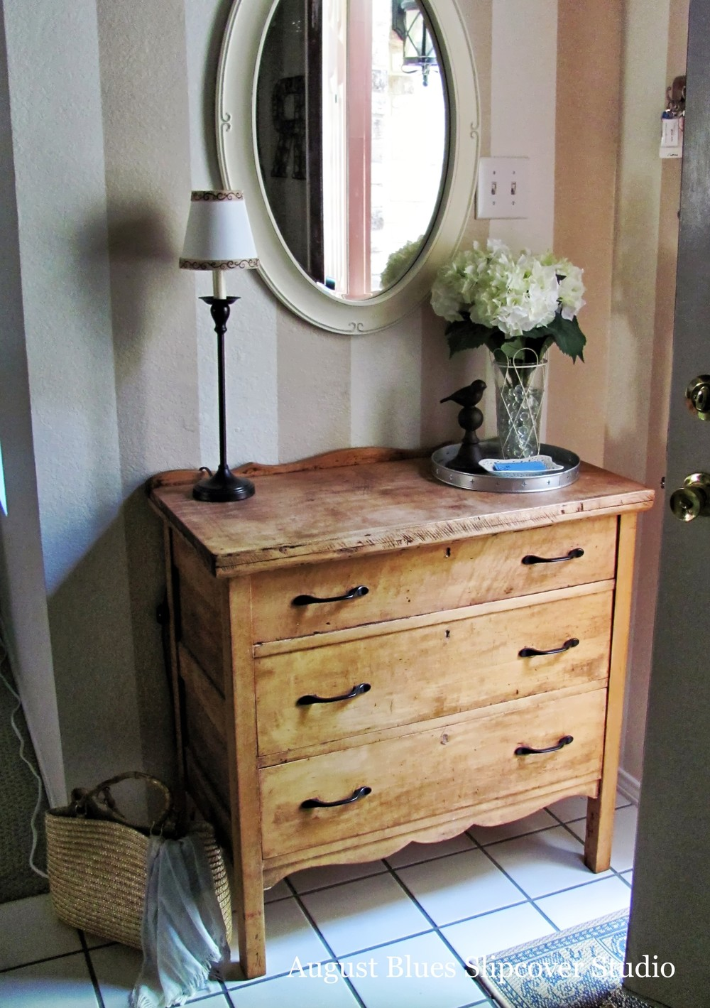 August Blues - mirror and chest1