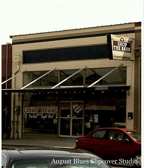 August Blues - Shop the Barn, Denton