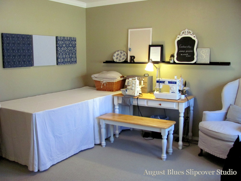August Blues - Sewing Room