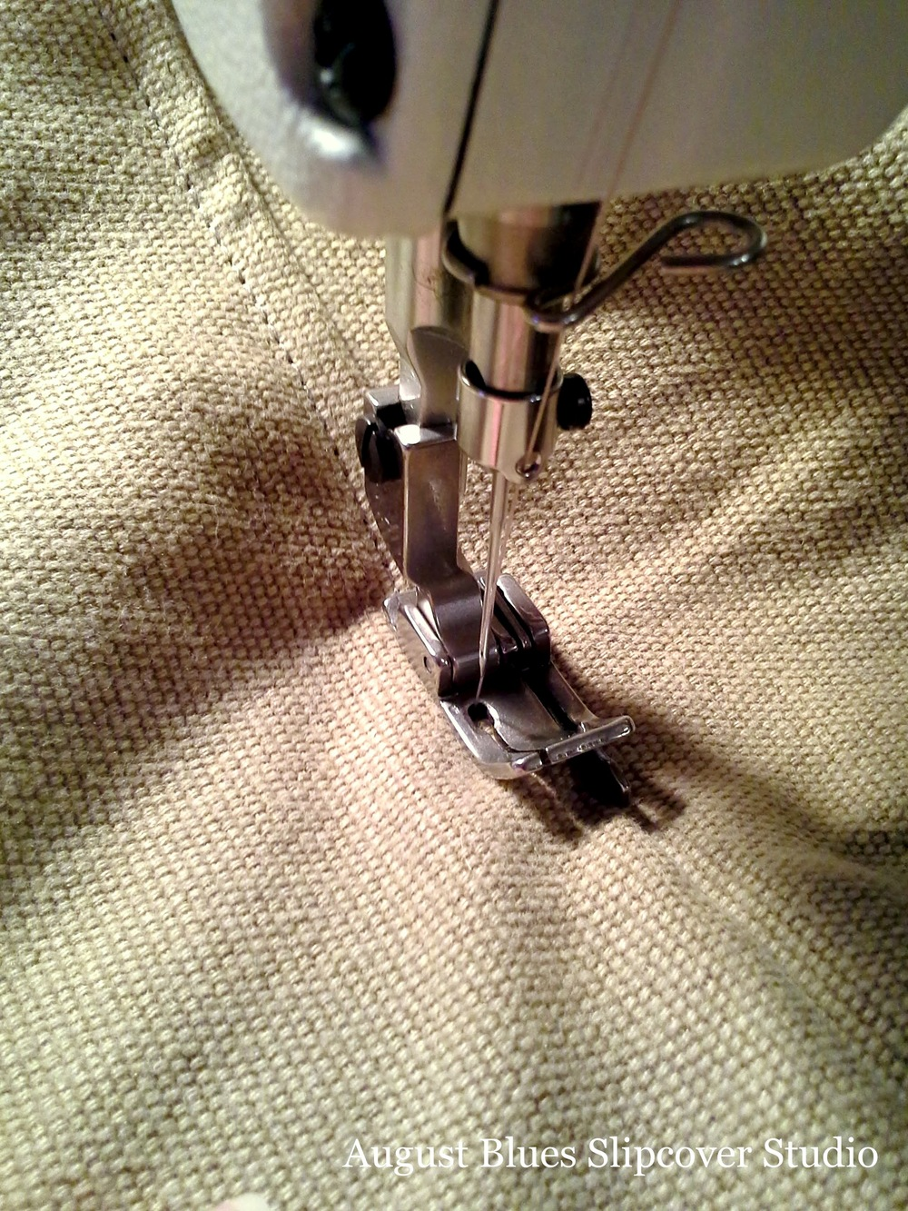 August Blues - Topstitching Foot