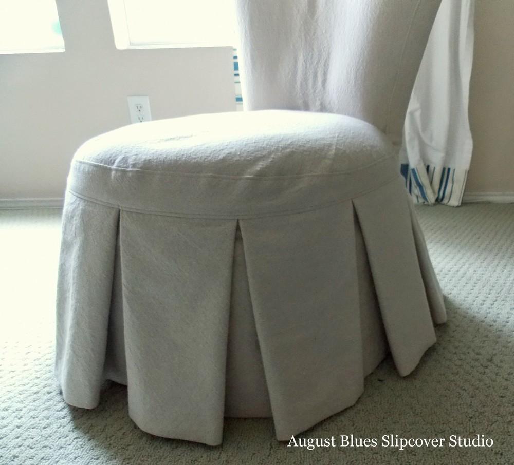 August Blues - Boudoir Chair Front