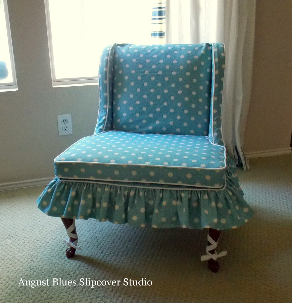 August Blues - Petite Chair After